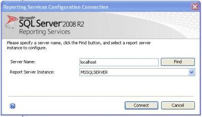 Cómo configurar el servidor de Reporting Services en SQL Server 2008