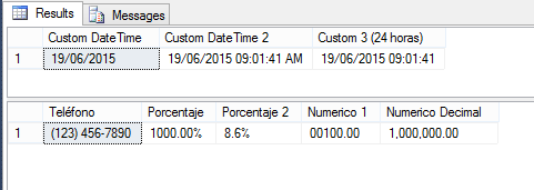 how to change date format in sql server