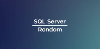 SQL Server Random
