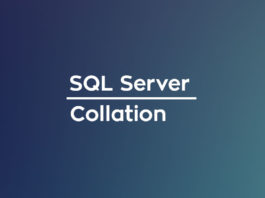 sql server collation