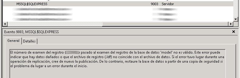 SQL Server Error 3414